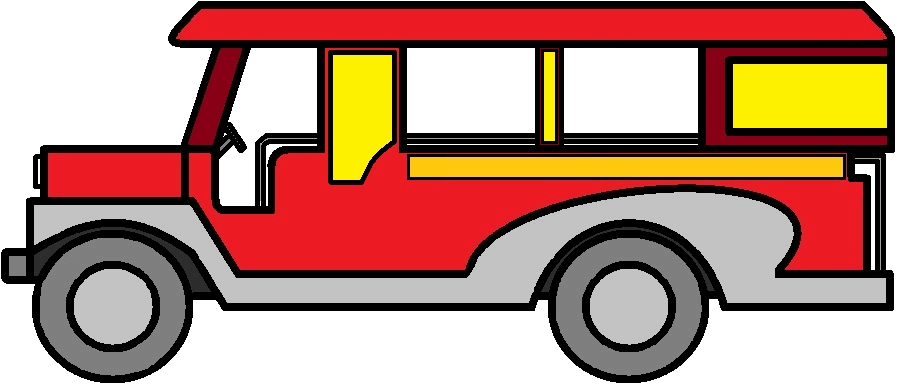 Jeep Side View Drawing Jeepney Side View Drawing