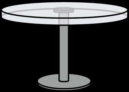 Walfas Custom Props - Glass table by grayfox5000