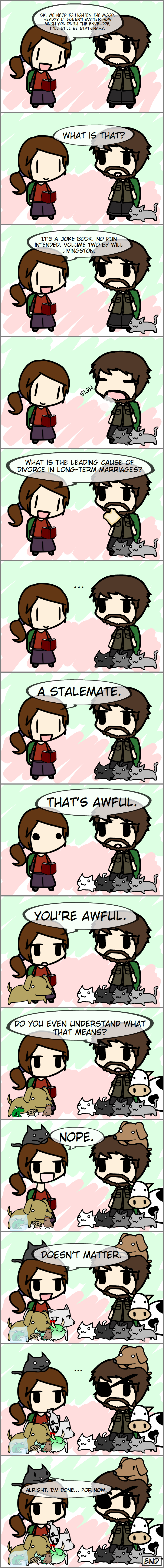 Walfas - The Last of Us Ellie's Jokes by grayfox5000