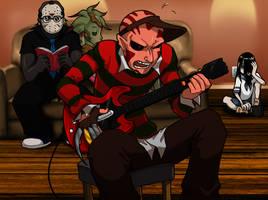 Guitar Screwed by AstroZerk