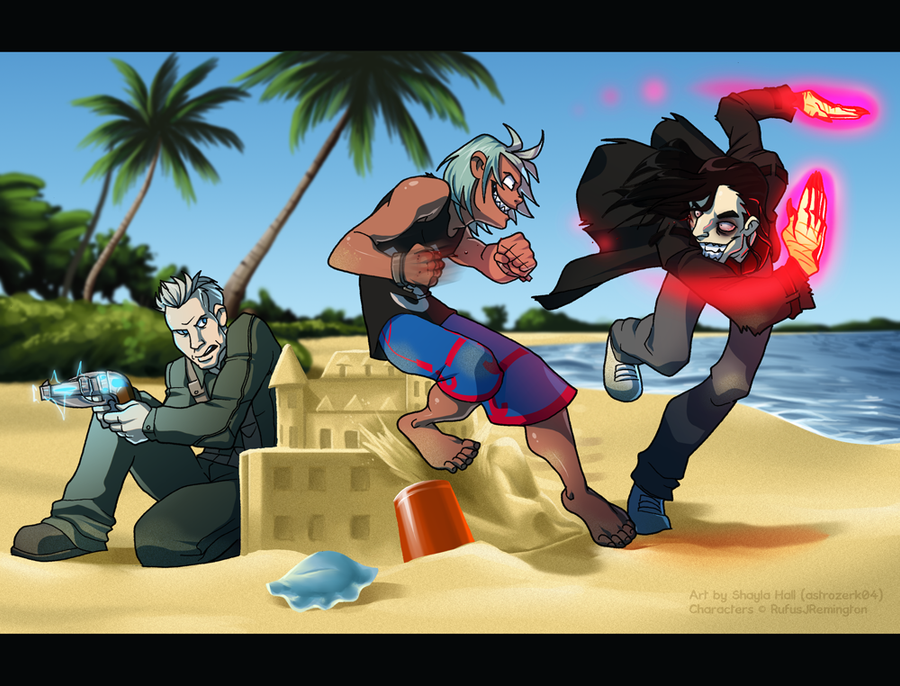 Beach Brawl by AstroZerk