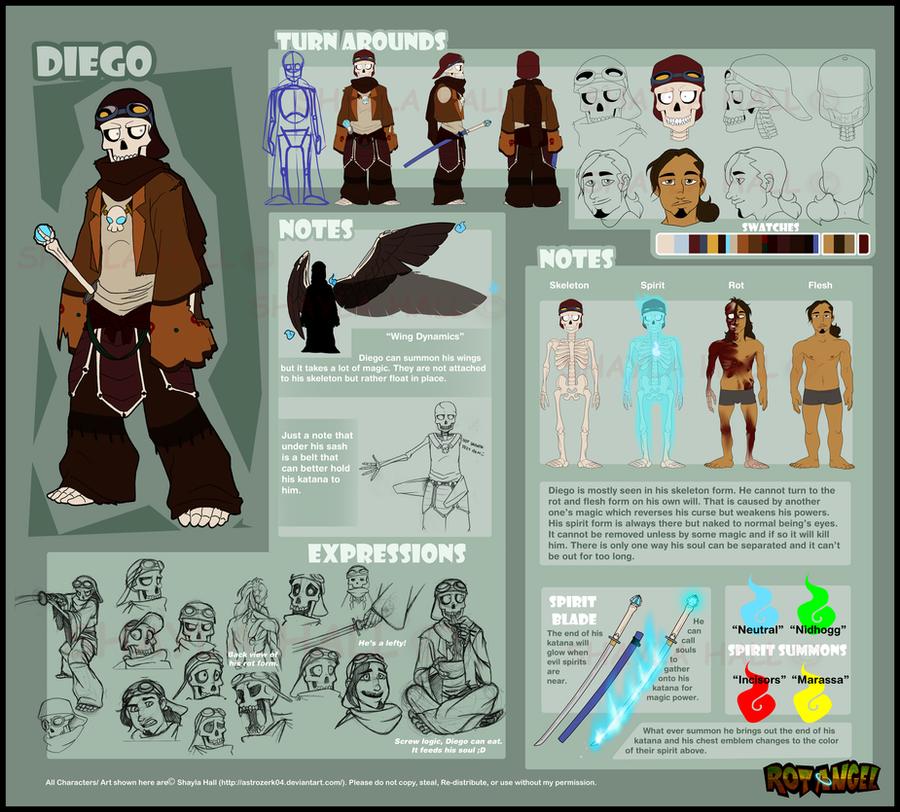 Diego ref 2.0 by AstroZerk