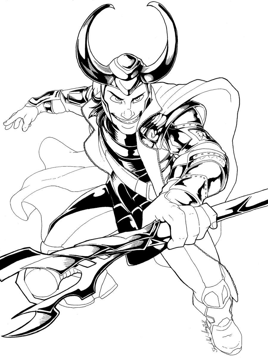 Loki by AstroZerk