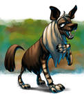 Brown Hyena - CritterJam