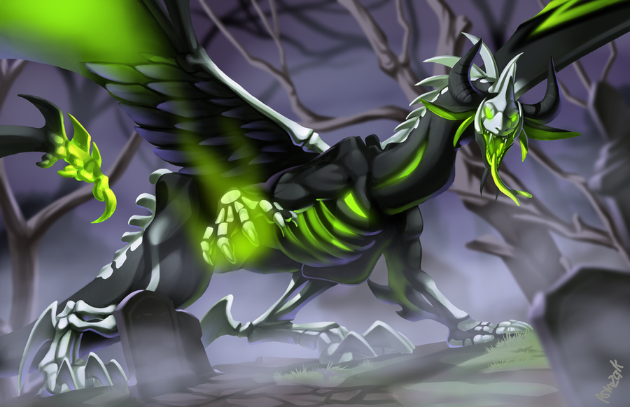 Nidhogg of the Dead by AstroZerk
