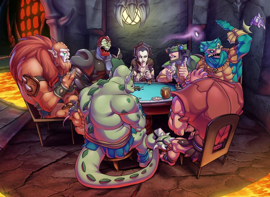 Evil Poker by AstroZerk