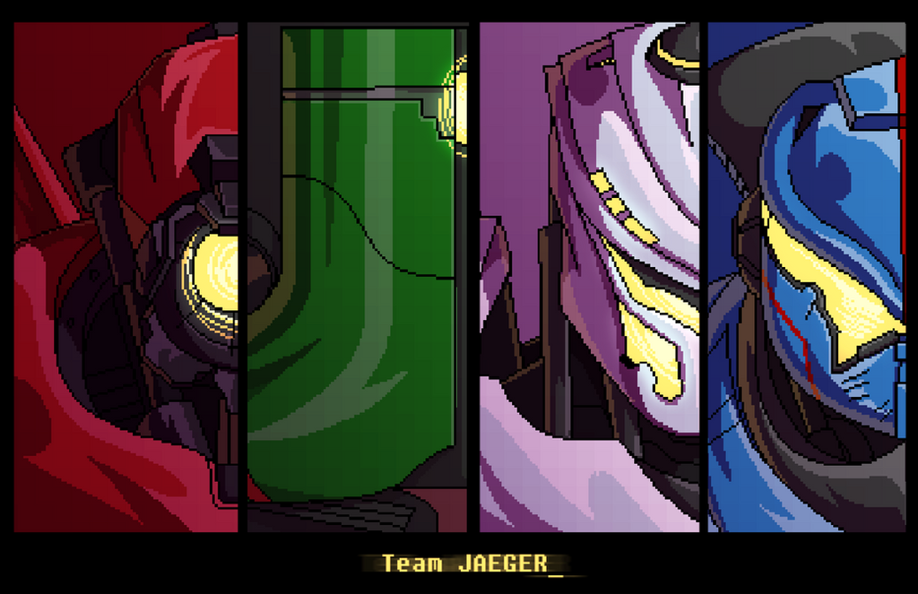 Team Jaeger by AstroZerk