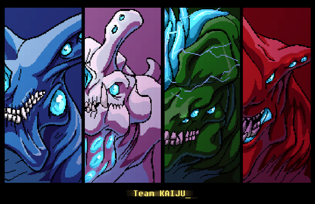 Team Kaiju by AstroZerk