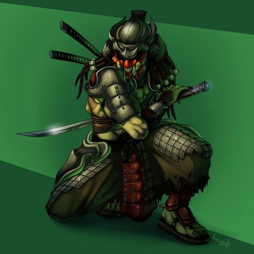 Samurai Predator Masked by AstroZerk