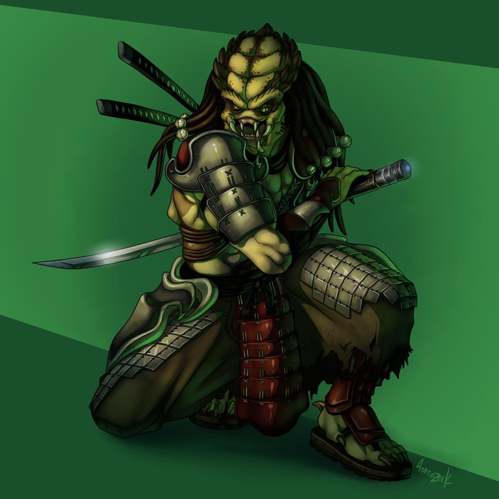 Samurai Predator un-masked by AstroZerk