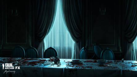 Archer Dreamland: Trexler Dining by AstroZerk
