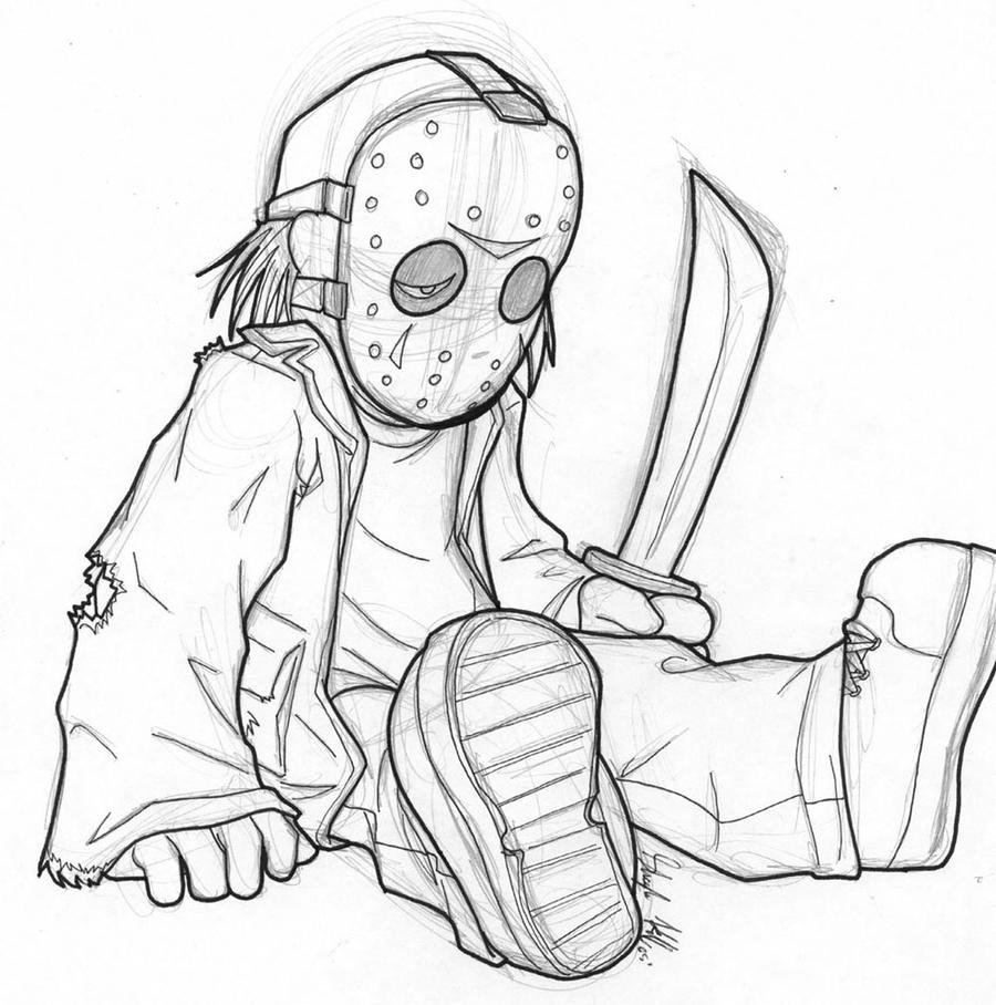 coloring pages of jason - photo#11