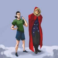 Winter in Asgard by CrocInCrocs