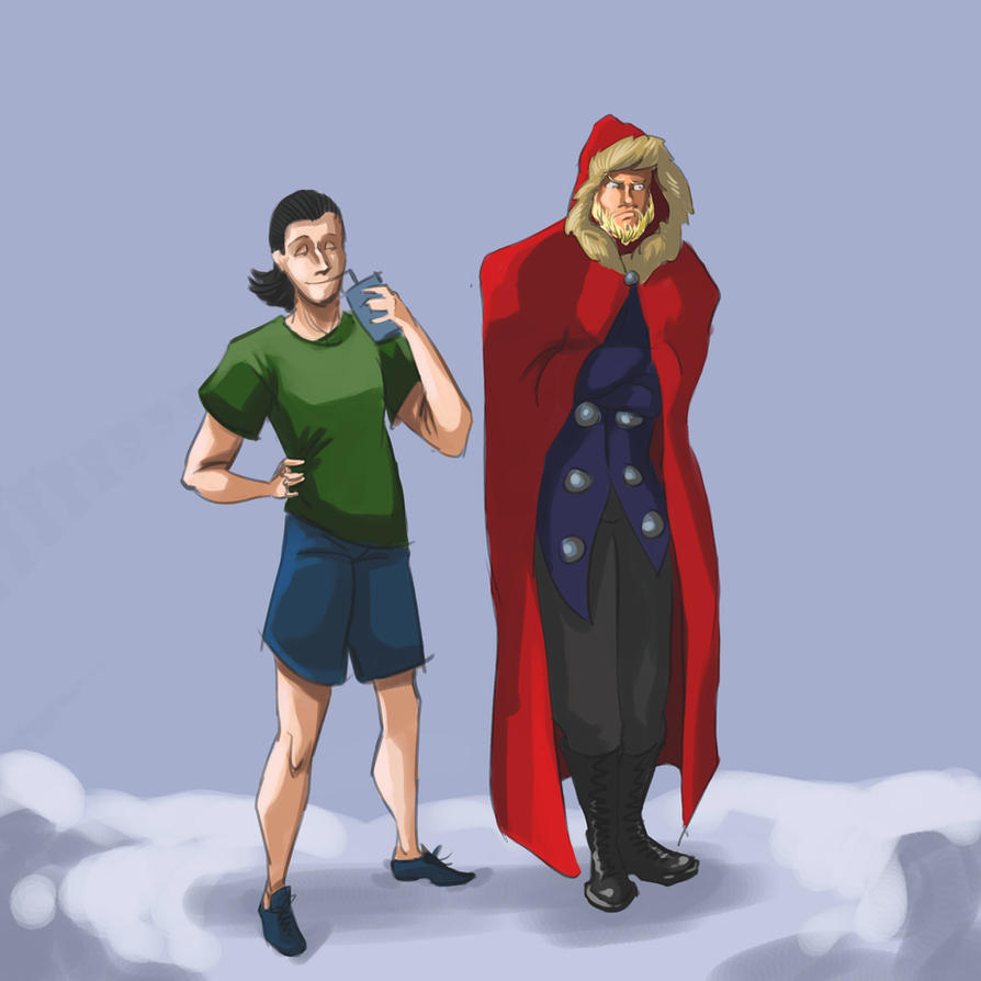 Winter in Asgard by Ewela1130