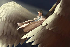 Castiel by CrocInCrocs