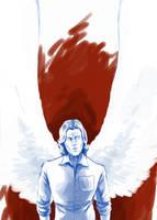 Archangel Samuel by CrocInCrocs