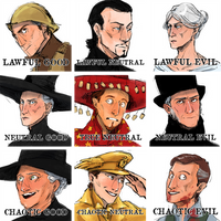 Discworld characters alignment by CrocInCrocs