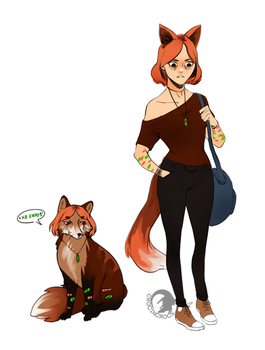 *.~:Anna the sad fox Adoptable:~.* (CLOSED)