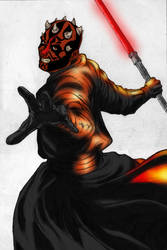 Darth Maul by Wollack
