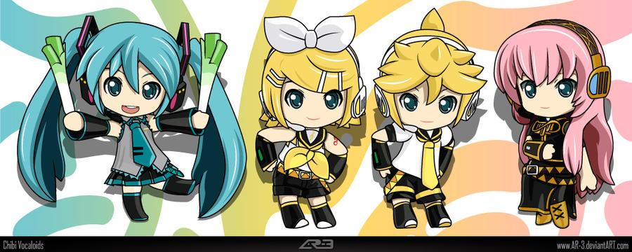 Chibi Vocaloids By AR 3