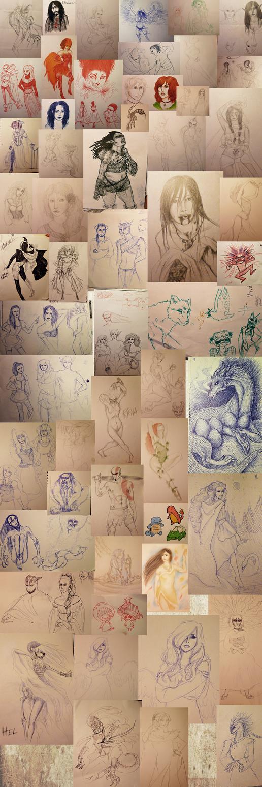 Sketches by Joetar
