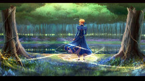 Saber From Fate StayNight