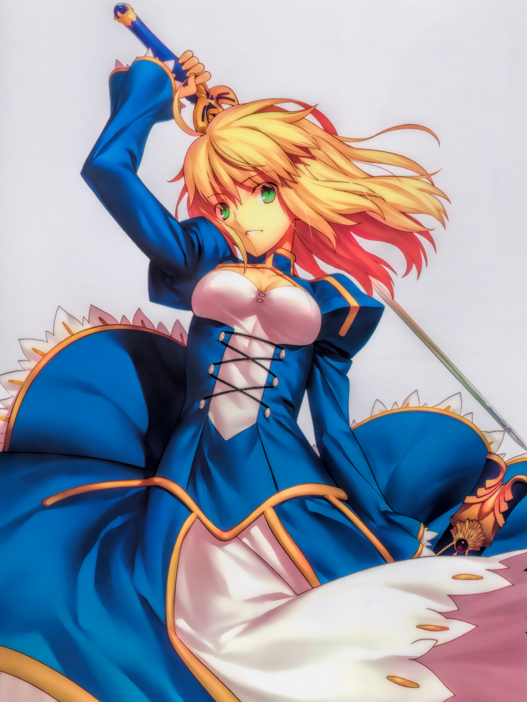 Fate/Zero: Saber by Fulbring on DeviantArt