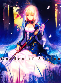Fate/Stay Night (2014): Saber in Garden Of Avalon