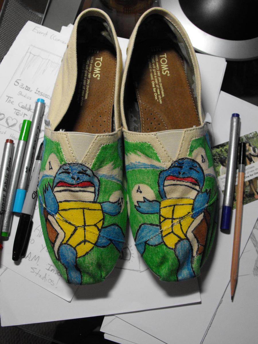 Toms Design squirtle toms shoe design by jakejames on deviantart