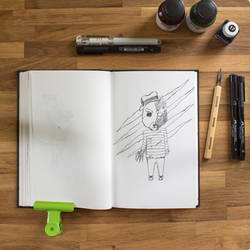 Inktober | Fred Y. Bear by photograph1c