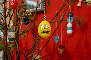 Eastereggs | Hungry Homer by photograph1c