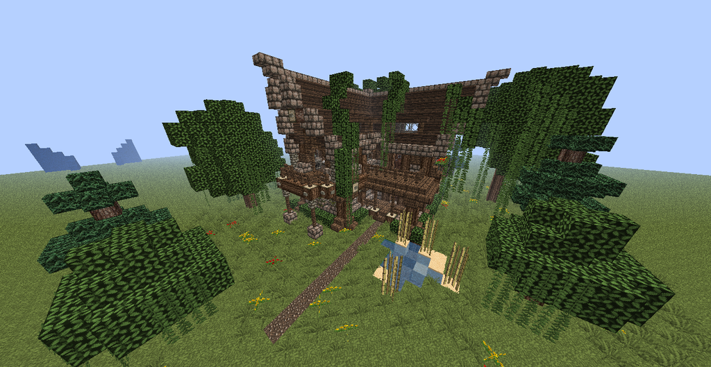 RusticMedieval House Minecraft by ChadimusMaximus on