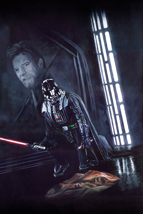 Star Wars - You Were My Brother Too . . .' by solman1