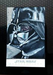 Darth Vader sketch card Topps
