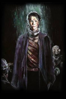 Original Walking Dead Carol Peletier Painting