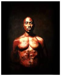 Tupac Original painting