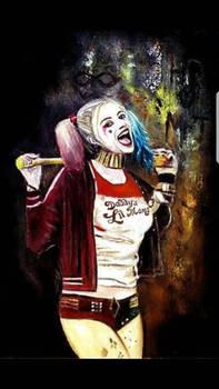 Harley Quinn Suicide Squad Original painting