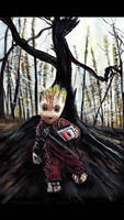 Baby Groot Original painting