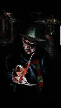 Freddy Krueger Original painting