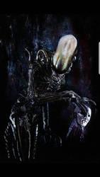 Alien Original painting