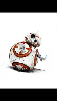BB-8 Original painting