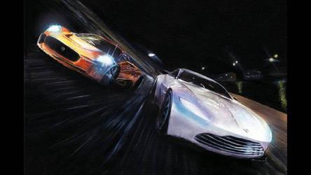 James Bond Spectre Original painting