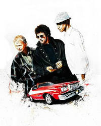 Starsky and Hutch Original painting