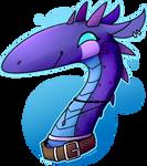 A Blue Dragon | Gift by LYNX3000