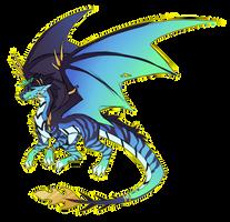 Blue Black n Green :: Commission