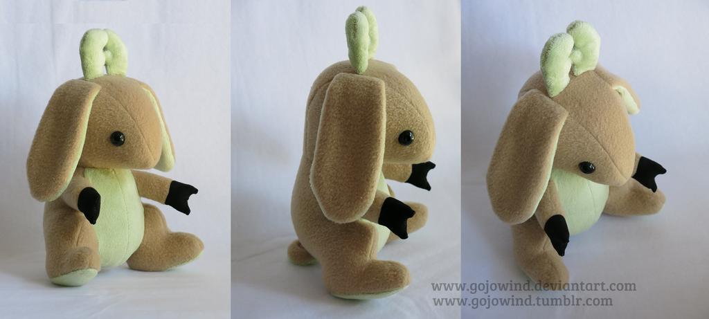 Green Bunny Deer by gojowind