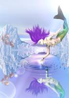 Mermaid Icescape cool by cgartner