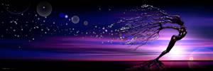 Starlight blossom tree by cgartner