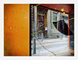 Postcard of decay street