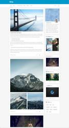 iBlog - Responsive Tumblr Theme - Free Theme by Festus911